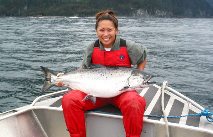 coho-salmon-fishing-charlotte-queen-adventures-bc